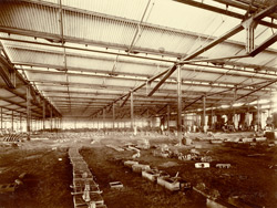 Iron Foundry - general view [Jamalpur Railway Workshops].